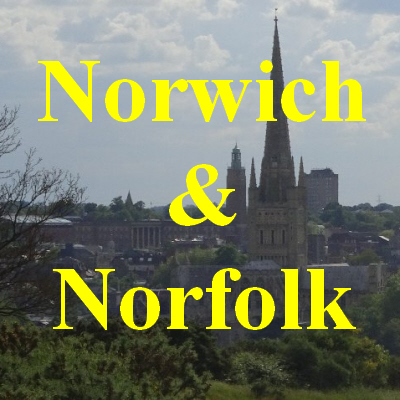view over Norwich from St. James' Hill forming a link to the Norwich & Norfolk page